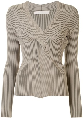 Dion Lee Cable Twist Knitted Top