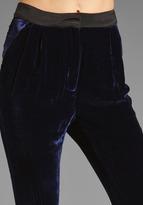 Funktional Velvet Pleat Pants