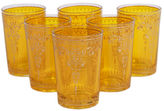 Found Object S/6 Yasmina Moroccan Glasses, Yellow
