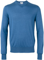Ballantyne V-neck jumper - men - Silk/Cashmere - 54