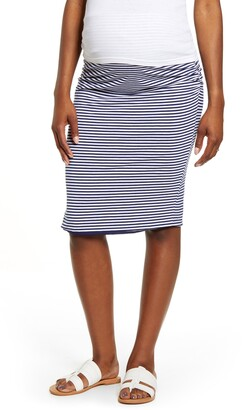Angel Maternity Reversible Maternity Pencil Skirt