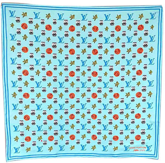 Louis Vuitton Multicolour Silk Scarves