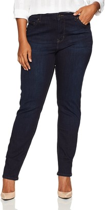 Lee Women's Plus-Size Modern Series Midrise Dream Jean Faith Skinny