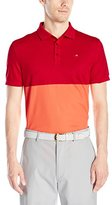 J. Lindeberg Men's James Regular Fit Tx Pique Golf Polo Shirt