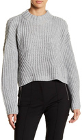 Gracia Cropped Turtleneck Sweater