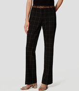 LOFT Tall Plaid Custom Stretch Trousers in Julie Fit