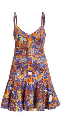 Alexis Ledea Printed Stretch-Cotton Dress