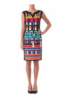 Joseph Ribkoff Geometric Dress