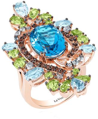 LeVian Le Vian 14K Rose Gold 12.43 Ct. Tw. Gemstone Ring