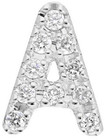 Nephora 14K 0.04 Ct. Tw. Diamond Single Initial Earring (A-Z)