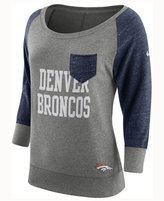 Nike Women's Denver Broncos Vintage Crew Long Sleeve T-Shirt