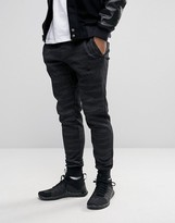 Nike Printed Slim Joggers In Black 807265-014