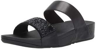 FitFlop Women's SPARKLIE Crystal Slide Sandal