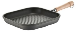 """Berndes Tradition Induction 11.5"""" Square Grill Pan"""