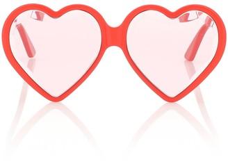 Gucci Heart-frame sunglasses