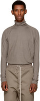 Jan-jan Van Essche Taupe Cotton Turtleneck