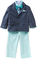 Class Club Little Boys 2T-7 4-Piece Denim Suit Set