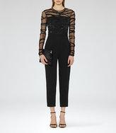 Reiss Salie Embellished Jumpsuit