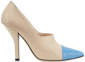 Fendi Pointed Two-Tone Pumps