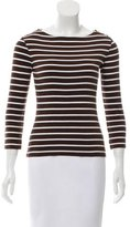 Tory Burch Bateau-Neck T-Shirt