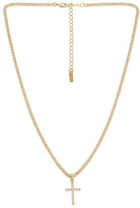 Natalie B Korsa Cross Necklace