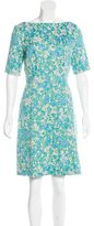 Lela Rose Jacquard Knee-Length Dress w/ Tags