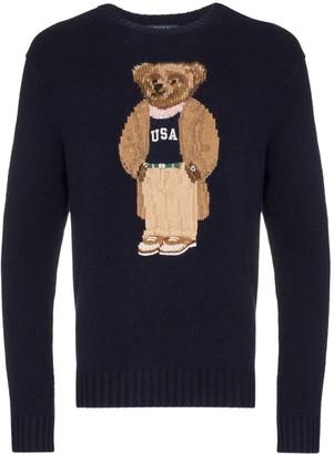 Polo Ralph Lauren Teddy Bear intarsia jumper