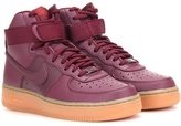 Nike Force 1 Hi Se Leather High-top Sneakers