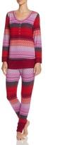 Josie Stripe Fireside Henley Pajama Set