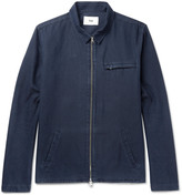 Folk - Denim Zip-up Shirt