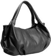 MG Collection Yelena Top Handle Soft Hobo Shoulder Bag