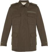 Valentino Rockstud Untitled #3 Byron cotton jacket