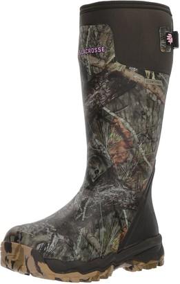 """LaCrosse Women's 376008 Alphaburly Pro 15"""" Waterproof Hunting Boot Mossy Oak Break-Up Country - 11 D"""