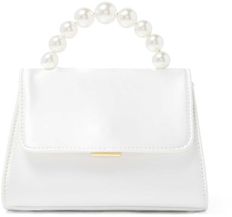 Forever New Penny Pearl Top Handle Mini Bag - Ivory - 00