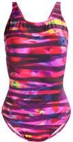 Arena SHIRLEY U BACK Swimsuit grape violet
