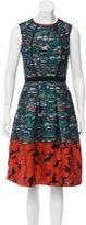 Oscar de la Renta Pre-Fall 2016 Jacquard Dress