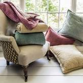 Graham and Green Quilted Velvet Cushions And Blankets