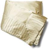 Kumi Kookoon French Pleat Silk Standard Throw, Sage