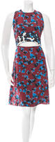 Tanya Taylor Printed Silk Dress w/ Tags