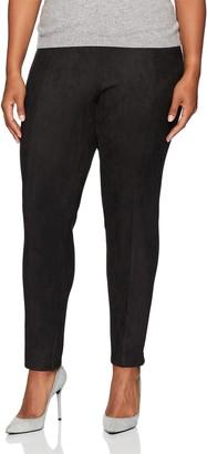 Calvin Klein Women's Plus Size Suede Legging