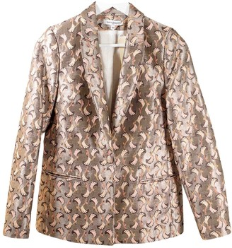La Petite Francaise Gold Jacket for Women
