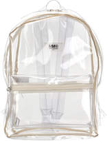 MM6 MAISON MARGIELA clear backpack
