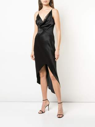 Cushnie cowl neck dress