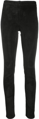 Loewe Calf Leather Leggings