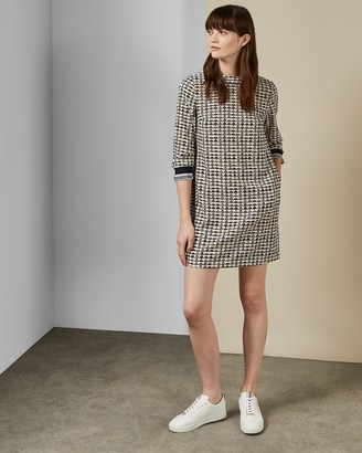 Ted Baker KARLEEN Triangle print dress