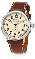 Shinola Runwell Stainless Steel Watch