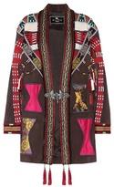 Etro Embellished leather jacket