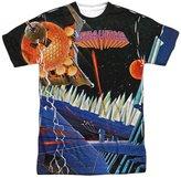Atari Arcade Games Gravitar 2600 Game Cartridge Design Adult Front Print T-Shirt