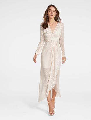 Ever New Winona Metallic Dress