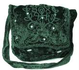 MyGothicShop Gothic Victorian Renaissance Girls Punk Vintage Vamp Green College Shoulder Bag